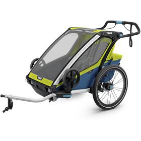 Thule Chariot Sport 2 Polkupyörän perävaunu, chartreuse/mykonos